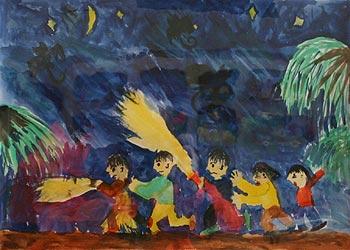 子供達の作品
