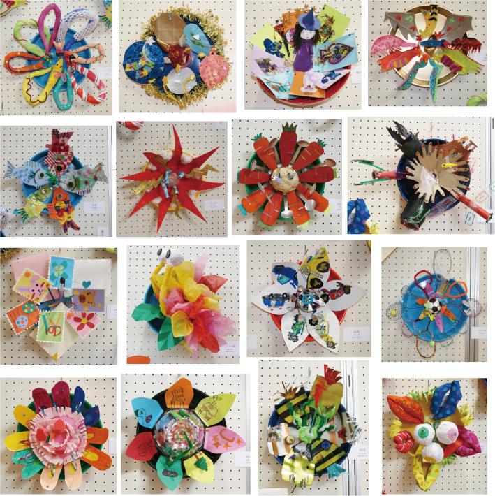子供のアート展2012「この世にはない花」1