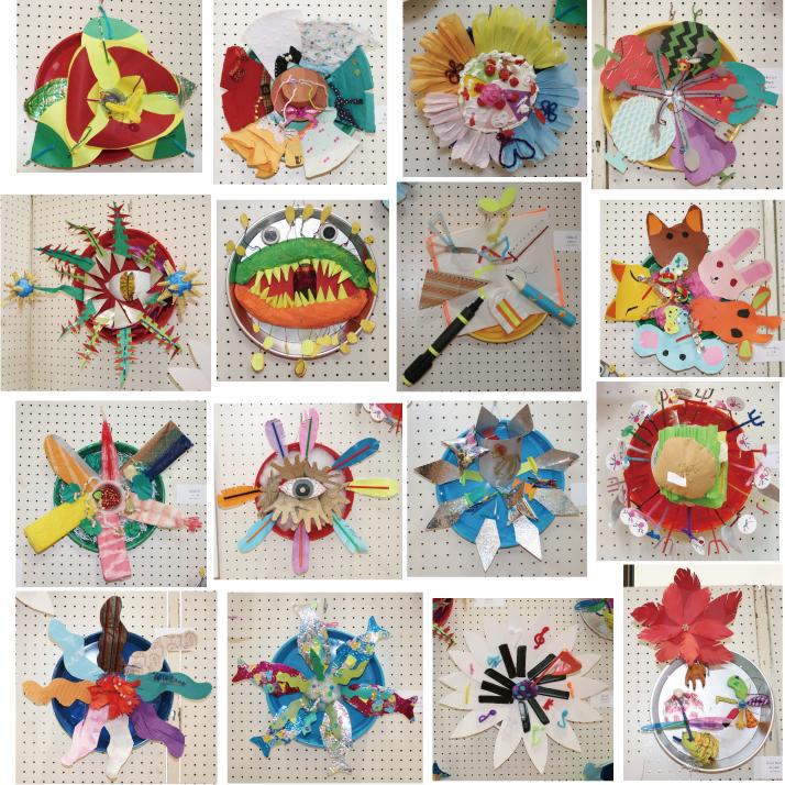 子供のアート展2012「この世にはない花」3