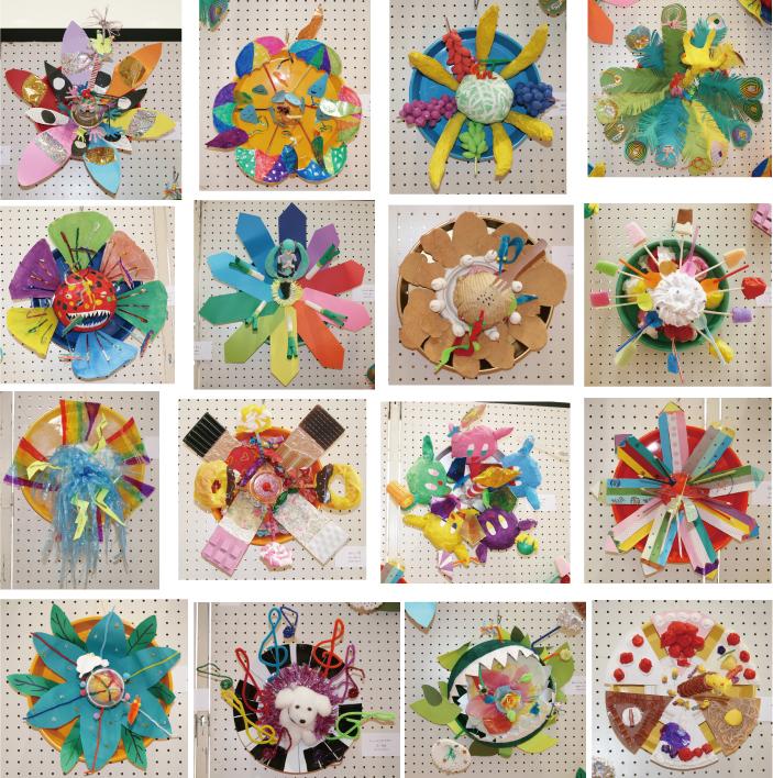 子供のアート展2012「この世にはない花」4
